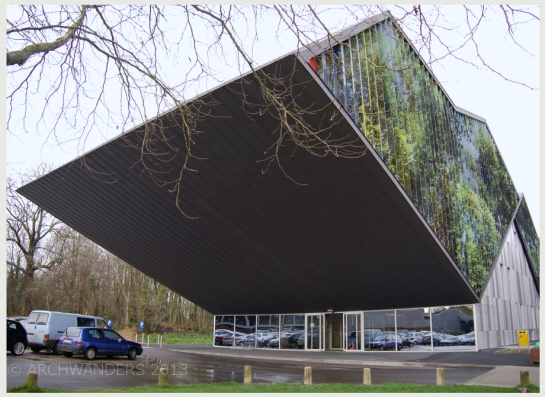 Amazing cantilevered music academy MWD in Dilbeek 1