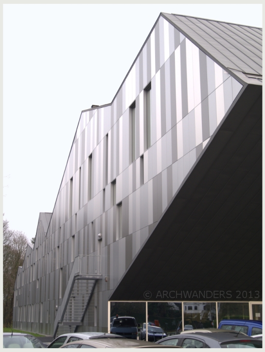 Amazing cantilevered music academy MWD in Dilbeek 11