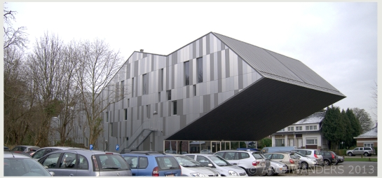 Amazing cantilevered music academy MWD in Dilbeek 12