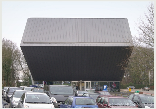 Amazing cantilevered music academy MWD in Dilbeek 13