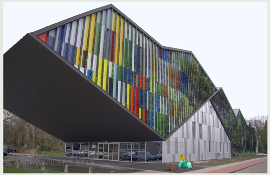 Amazing cantilevered music academy MWD in Dilbeek 3