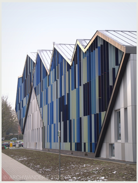 Amazing cantilevered music academy MWD in Dilbeek 8