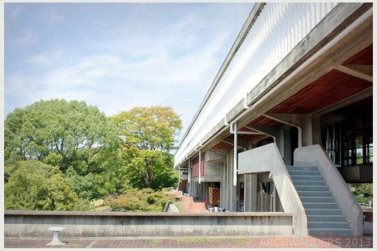 modernist Aichi Prefectural University of Fine Arts and Music 10